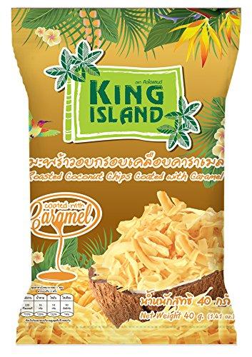 KING ISLAND ココナッツチップス・キャラメル味40g×24袋