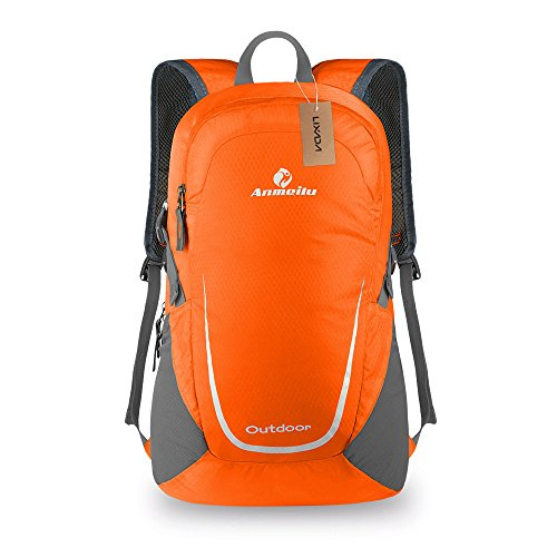 Bike Backpack Lixada 15L Lightweight Packable Backpack Waterproof Foldable Rucksack for Outdoor Camping Hiking Cycling Handy Travel Daypack Bag