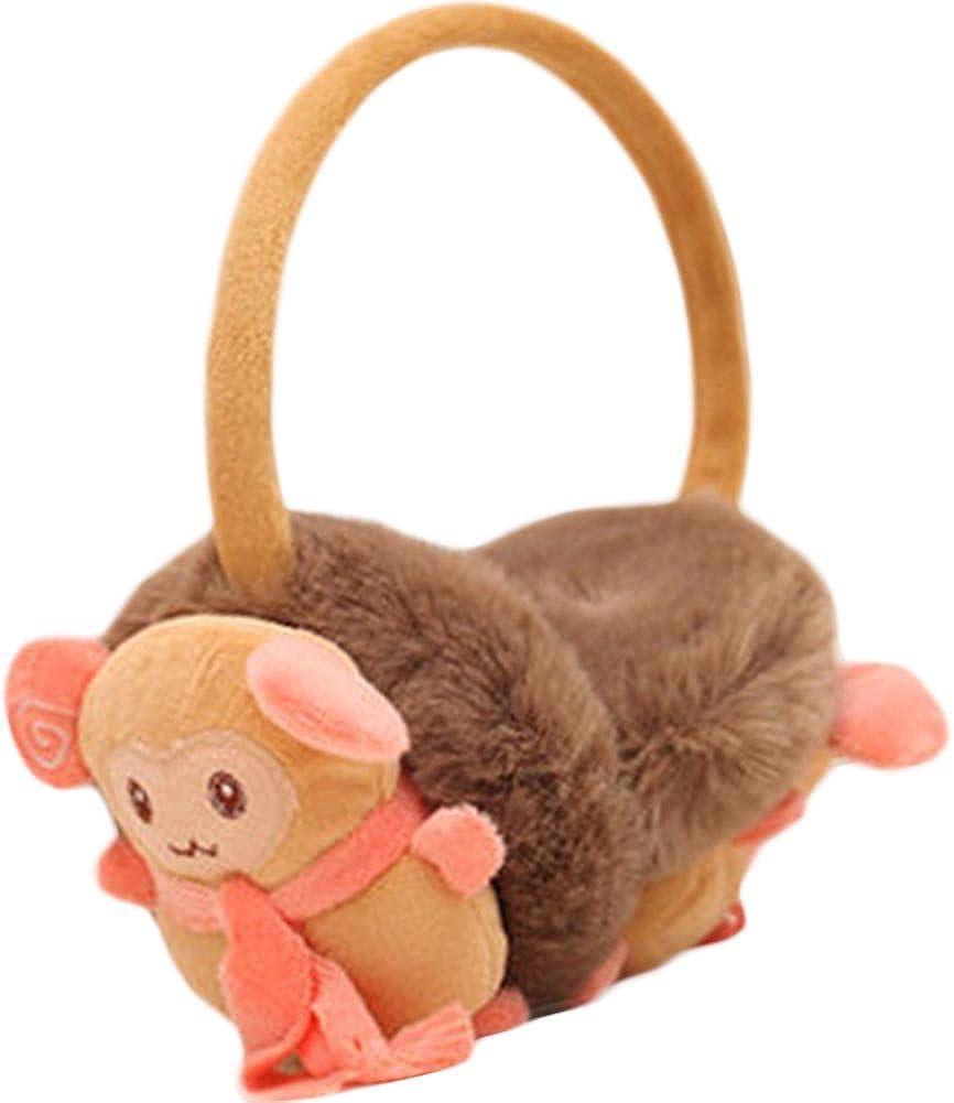 Lovely Sheep Ear Warmer Earmuffs Ear protection Winter decorations(Khaki)