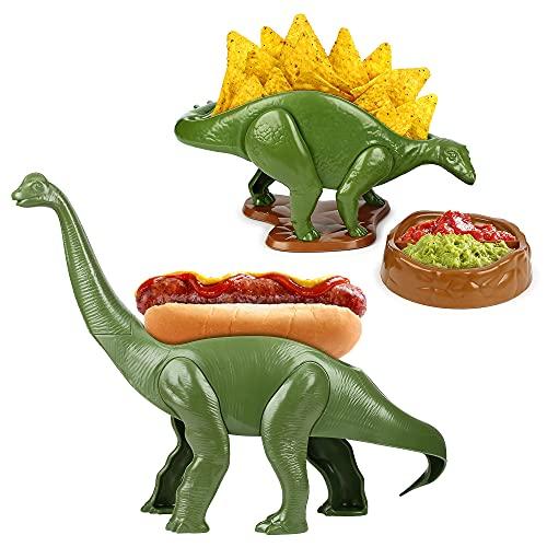 Nachosaurus and Weeniesaurus Bundle- Snack Dish Set
