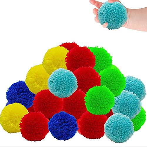 Prevessel Bolas de agua  50 bolsas de algodón reutilizables  para alberca y playa  para adolescentes y adultos  actividades al aire libre