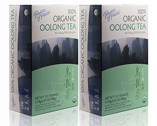 top rated Oolong Tea-100 Prince Of Peace Organic Tea Bags, Net Weight.  180 g (6.35 ounces) (2) 2020
