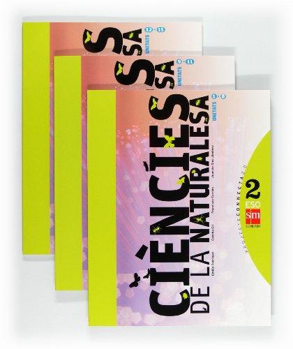 Ciències de la naturalesa. 2 ESO. Connecta 2.0. Trimestres  - Pack de 3 libros - 9788467549720