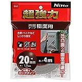 (まとめ買い)ニトムズ 超強力両面テープ 粗面用 T4593 【×5セット】