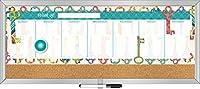 Lang パーフェクトタイミングカラフルキーウィークリーメッセージセンター ティム・コーヒー製 18 x 7.5インチ (1000701)