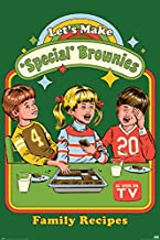 Pyramid America Lets Make Special Brownies Steven Rhodes Marijuana Pot Weed 420 Stoner Retro Vintage Style Funny Cool Wall Decor Art Print Poster 12x18
