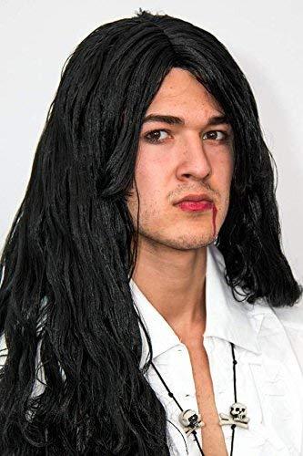 Halloween Wig Vampire Horror Spooky Graf Men's Wig