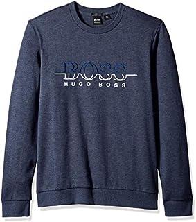 Hugo Boss Men's Salbo Long Sleeve Crewneck Sweatshirt