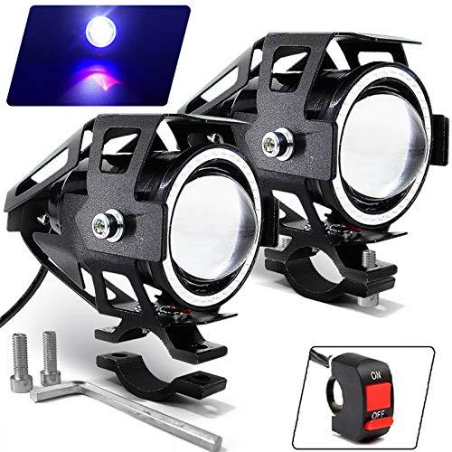 Motorcycle Headlight Cree U7 LED Fog Lights Spotlight Daytime Running...