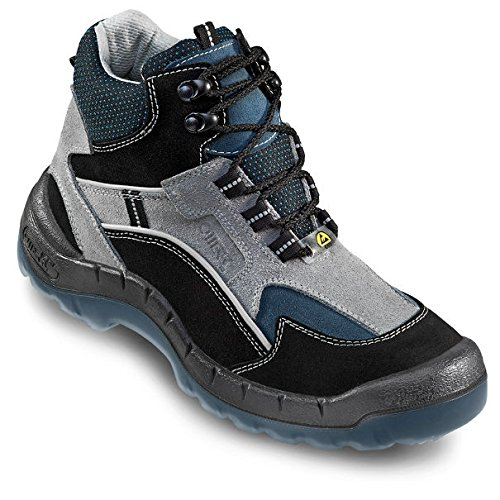 OTTER 93685 Sicherheitsstiefel ESD Sicherheitsschuhe Arbeitsschuhe Hoch Stiefel, Größe:48