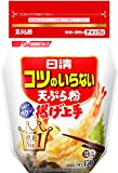 日清フーズ 日清コツのいらない天ぷら粉 チャック付 増量 500g