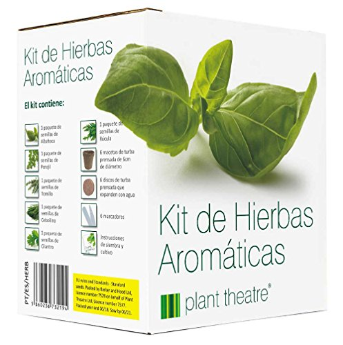 Plant Theatre Kit Hierbas Aromáticas - 6 hierbas