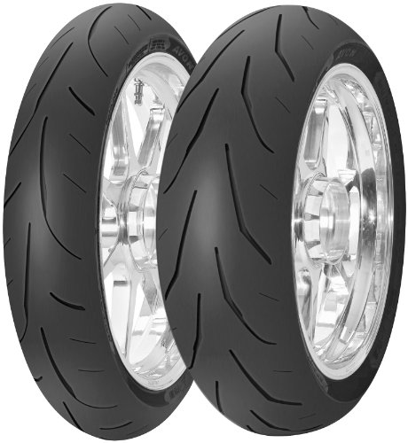 Avon Tyres AV82 3D Ultra Extreme Tire - Rear - 180/55ZR-17 , Position: Rear, Tire Size: 180/55-17, Rim Size: 17, Load Rating: 73, Speed Rating: W, Tire Type: Street, Tire Construction: Radial, Tire Application: Sport 4510011