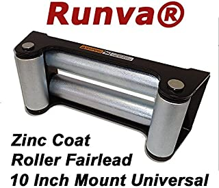Runva Winch Mounting Plate Max 12000lbs Universal Pattern 10 x 4.5 //w Quick Connects