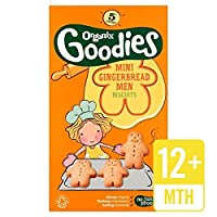 Organixミニジンジャーブレッドの男性のビスケット125グラム - Organix Mini Gingerbread Men Biscuits 125g [並行輸入品]