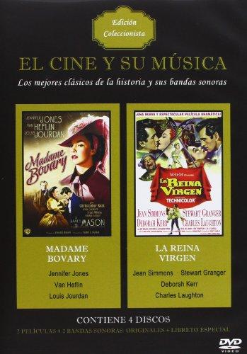 Pack El cine y su música: Madame Bovary + La reina virgen + Band [DVD]