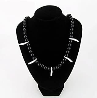 Cos-me Inuyasha Cosplay Black Charming Necklace Props