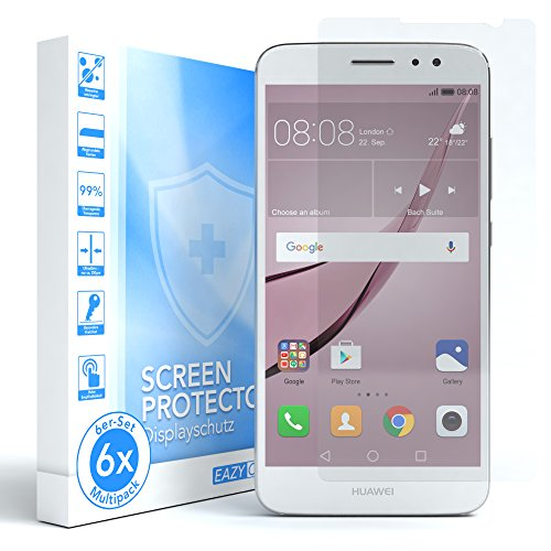 EAZY CASE 6X Bildschirmschutzfolie kompatibel mit Huawei Nova Plus, nur 0,05 mm dick I Bildschirmschutz, Schutzfolie, Bildschirmfolie, Transparent/Kristallklar