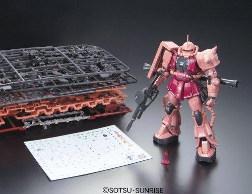 BANDAISPIRITS『RG1/144MS-06Sシャア専用ザク』