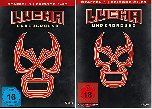 Lucha Underground 1.1+1.2 Episode 1-39 [DVD Set]