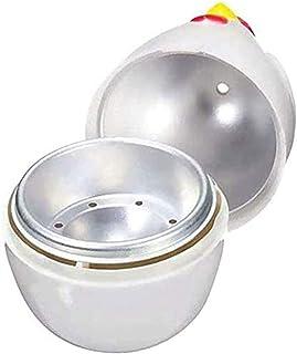 Microwave Egg Boilers,Egg Poachers,Cooker Poacher, Steamer,Chicken Shaped Plastic,Breakfast Kitchen,microwaveable for 1Eggs