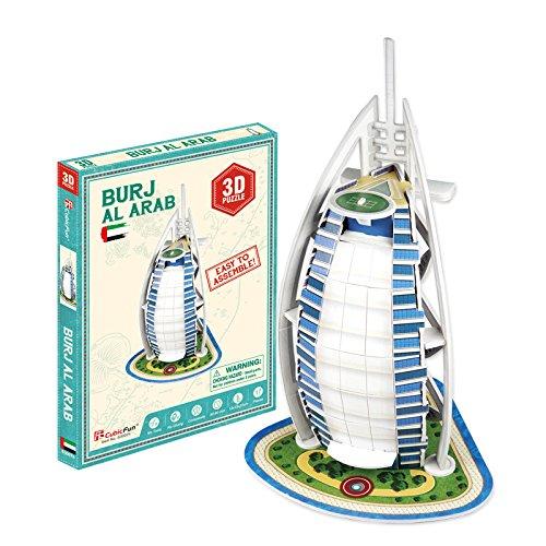 Puzzle 3D Burj Al Arab, Dubai