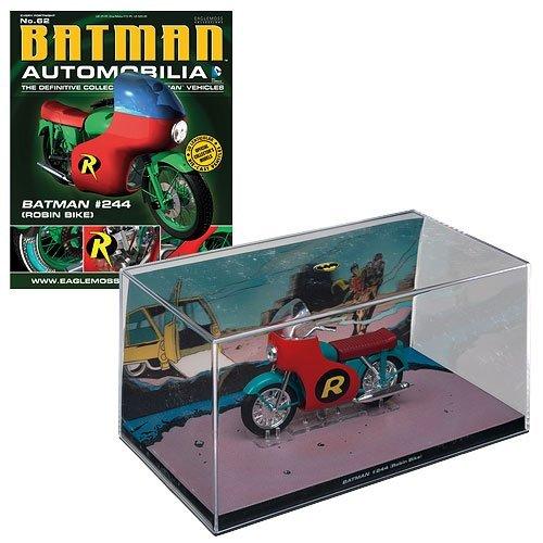 Batman Automobilia #62 Batman #244 (Robin Bike)