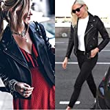 [BLANKNYC] womensVegan Leather Jacket Jacket - black - S