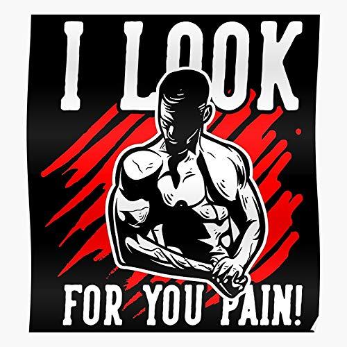 Fitness Exercise Workout Motivation Gym Sports Funny Fit El póster de decoración de interiores más impresionante y elegante disponible en tendencia ahora