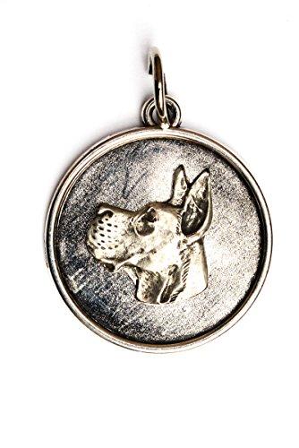 Deutsche Dogge, Hundehalskette, Medaillon, Limitierte Auflage, außergewöhnliches Geschenk, ArtDog