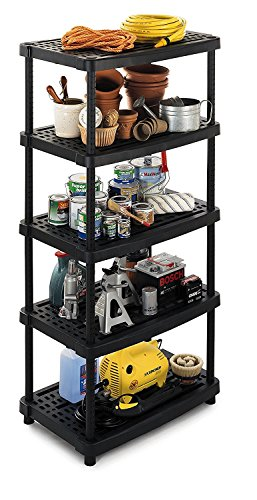 Schwerlastregal XXL mit höhenverstellbaren & ventilierten Böden für bis zu 350 kg - die Aufbewahrungslösung für Werkstatt, Keller, Garage und Haushalt!
