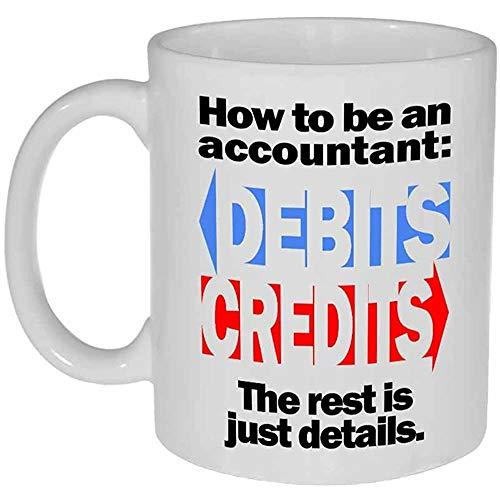 Hoe maak je een Accountant Koffie of Thee Mok 11 Ounce Mok