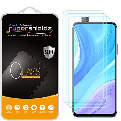 (3 Pack) Supershieldz for Huawei Y9s and Huawei Y9 Prime (2019) Tempered Glass Screen Protector, Anti Scratch, Bubble Free Georgia
