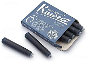 Fountain Pen Ink Cartridge - Blue Black - 6 Pack