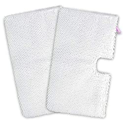 2 x Microfibre Washable Universal Steam Mop Cloth Cleaning Pads