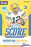 2018 Score Football Huge Exclusive Factory Sealed 60 Card Hanger Box! Loaded