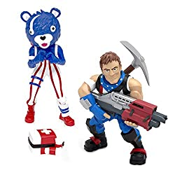 From the gaming and pop culture phenomenom Fortnite, a duo of two collectible figures Duo of two poseable Fortnight figure Premium detailing Over 100 figures to collect in 2019 Authentic Fortnite toy made with quality vinyl material