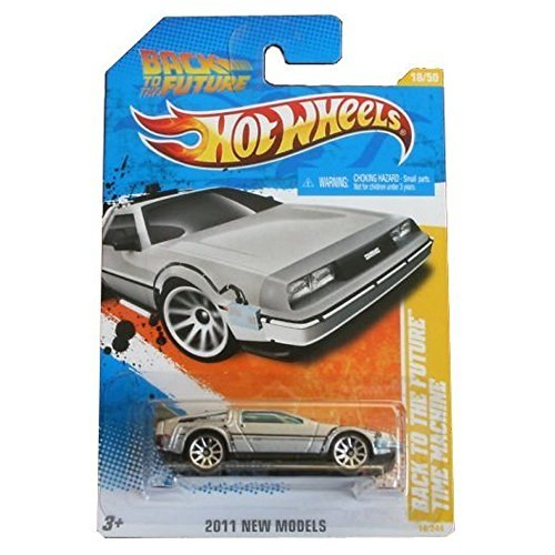 Hot Wheels 2011-018 New Models 18/50 Back To The Future Time Machine 1:64 Scale by Hot Wheels