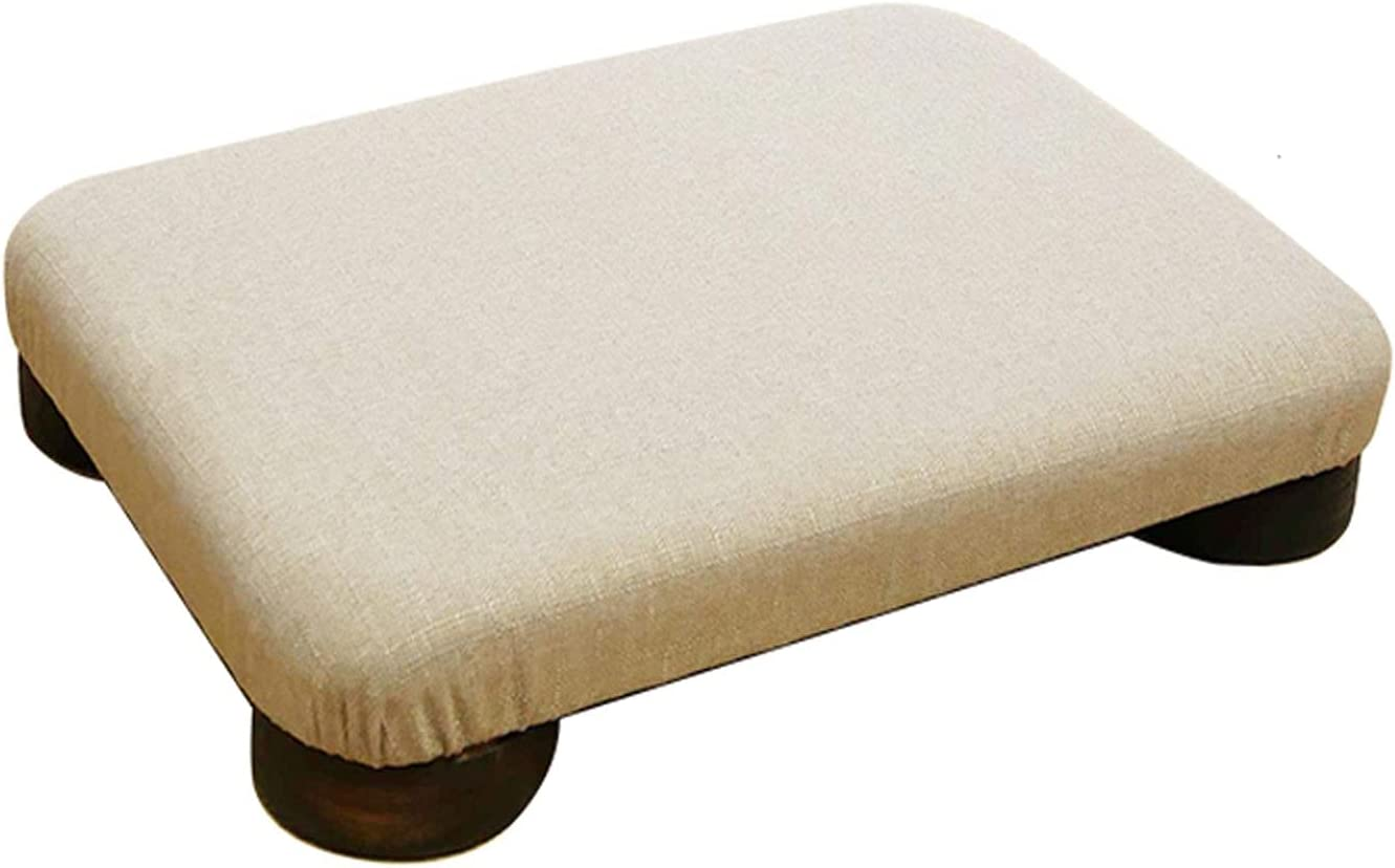 Super beauty product restock quality top DALIZHAI777 Ottoman Footstool 18.8×13.7×3.1 Rectangle Inch Wide Charlotte Mall