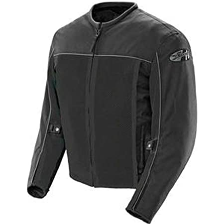 Joe Rocket - 1254-0004 Velocity Men's Mesh Riding Jacket (Black, Large)