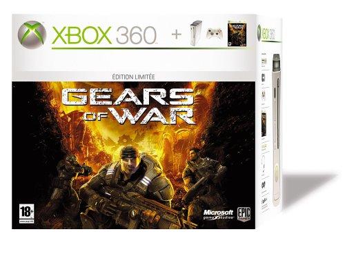 Console Xbox 360 Premium + Jeu Gears of War