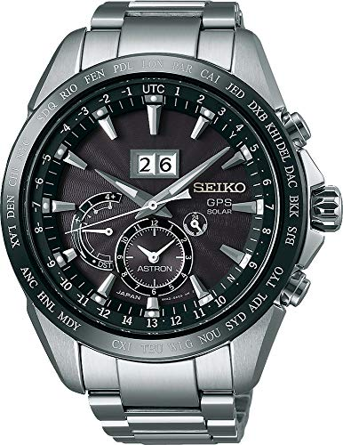 Seiko Astron GPS Solar mit Großdatum SSE149J1 Men's GPS reception for time and timezone