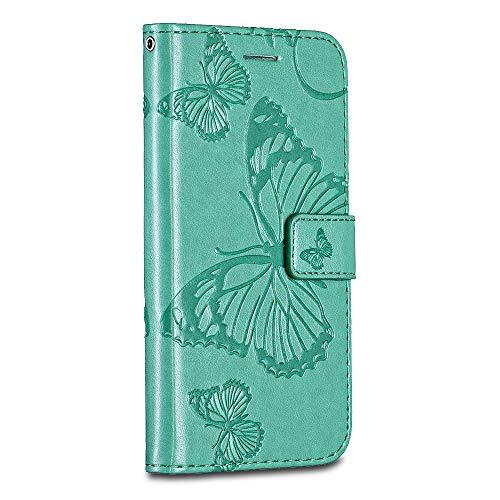 LG Stylo 2 /LG Stylus 2 /LG LS775 Case Cover, Casake [High Quality Pu Leather] [Card/ID Holder] [Wallet Flip Case] [Drop Proof] For LG Stylo 2 /LG Stylus 2 /LG LS775 Case -Green