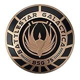 Battlestar Galactica Colección de Naves Espaciales Special Colonial Seal Plaque 22 cms.
