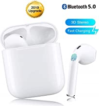 True Wireless Earbuds Bluetooth Headphones Cordless Headsets Mini Earphones Sports Headsets for iPhone Xs Max/XS/XR/X/8/7//6s for Galaxy Samsung S10/S9 Plus/S8/S8/S7/S7