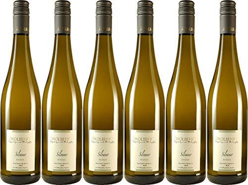 im Zwölberich Silvaner Qualitätswein 2018 Trocken Demeter Bio (6 x 0.75 l)