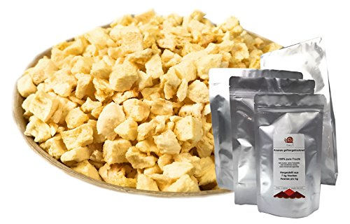 TALI Ananasstücke gefriergetrocknet 200 g
