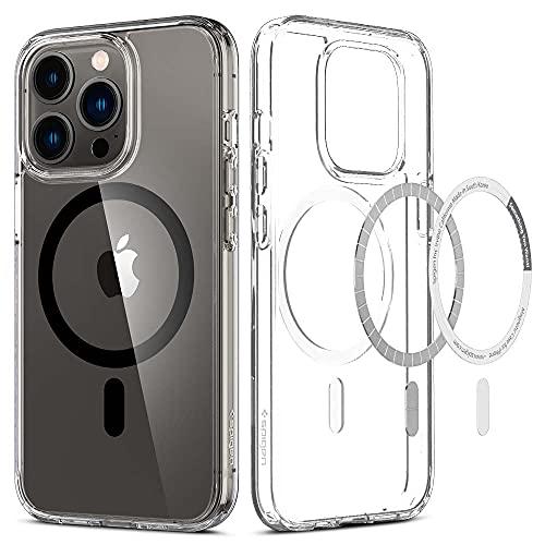 Spigen Cover Magnetico Ultra Hybrid Mag Compatibile con MagSafe e Compatibile con iPhone 13 Pro - Nero