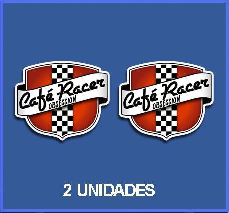 Ecoshirt CM-3WLV-8OFI Pegatinas Stickers Cafe Racer Ref: Dp188 Aufkleber Autocollants Adesivi Moto Decals, 10 cm