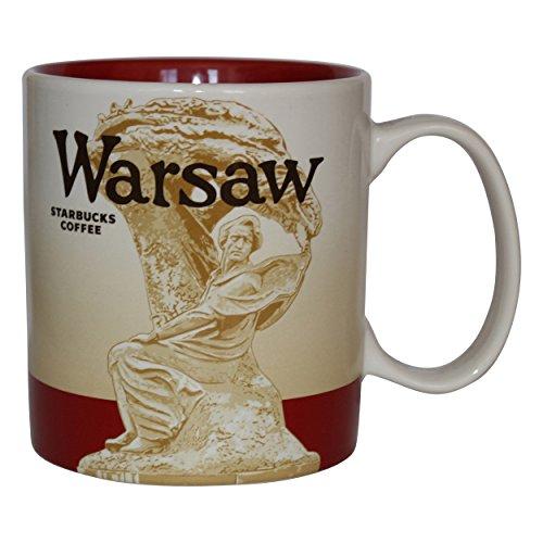 Starbucks City Mug Warsaw Poland Tasse Warschau Polen